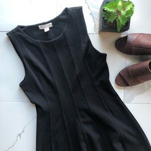 Forever 21 Black Fitted A Line Dress